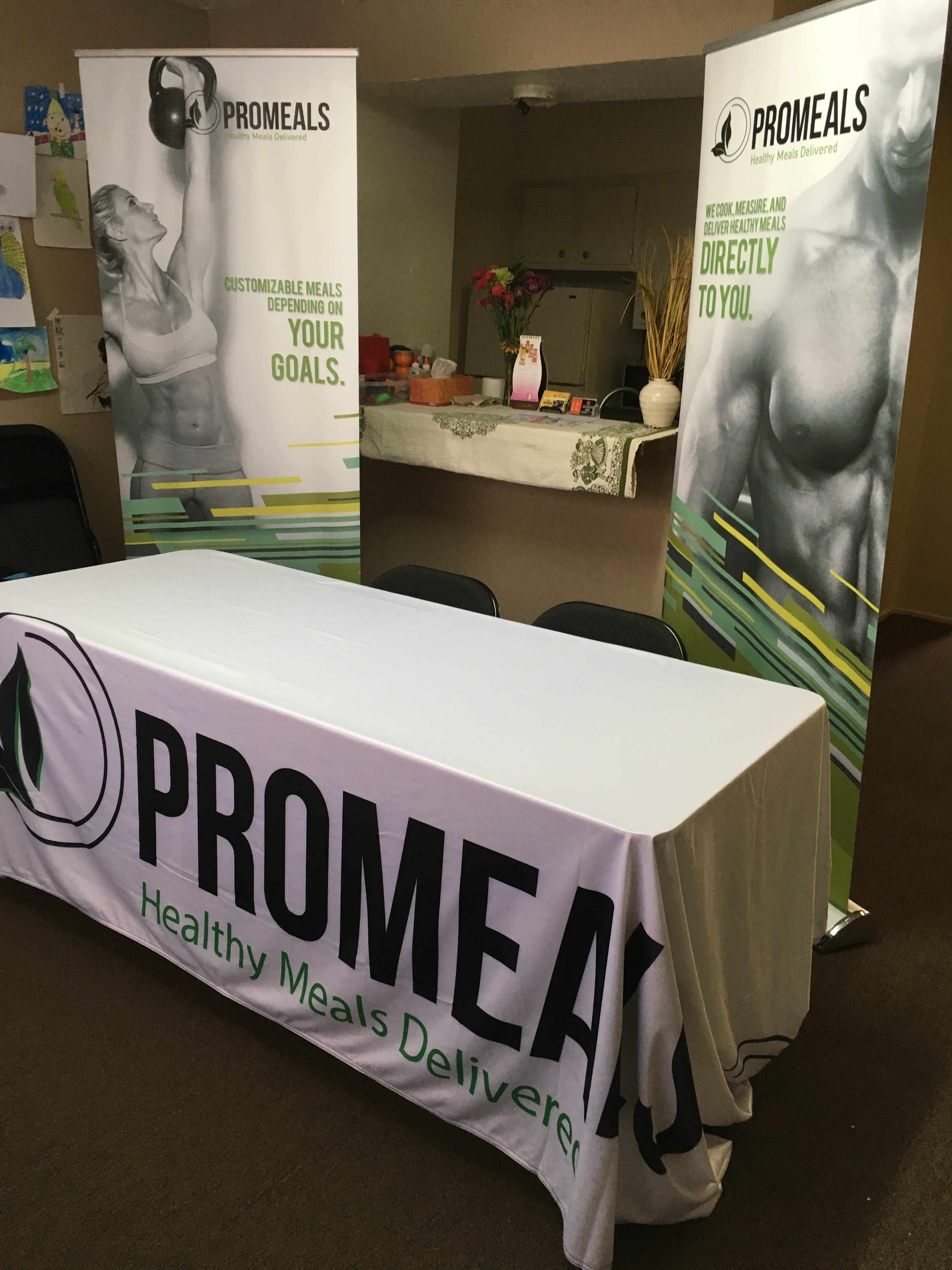 Houston Retractable Banners & Table Cloth
